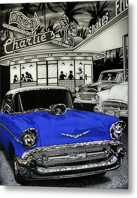 Metal Print featuring the photograph Remember When by Rhonda McDougall
