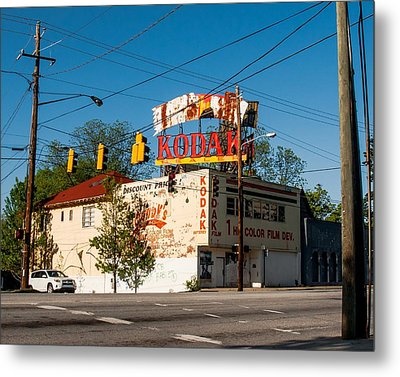 Metal Print featuring the photograph Remember When? by Robert L Jackson