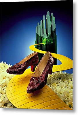 Remembering Oz Metal Print