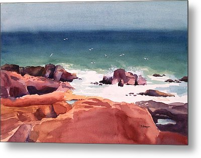 Remembering Schoodic Metal Print