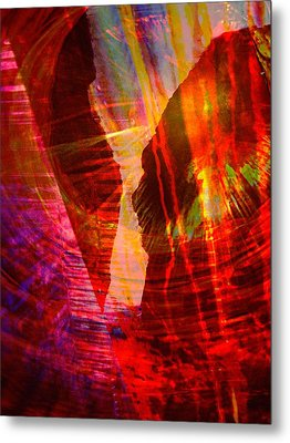 Remembering Metal Print by Shirley Sirois