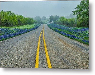 Remembering Spring In Texas Metal Print by Jeffrey W Spencer