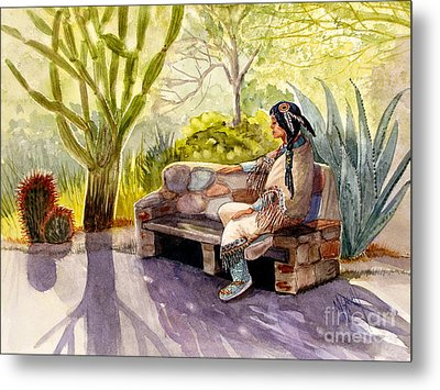 Remembering The Old Ones Metal Print by Marilyn Smith