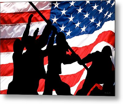 Remembering World War II Metal Print by Bob Orsillo