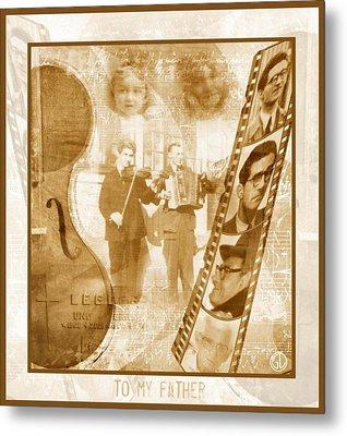 Remembrance Of My Father Metal Print by Gun Legler
