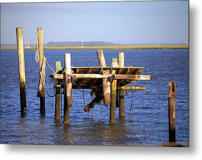 Metal Print featuring the photograph Remnants by Gordon Elwell