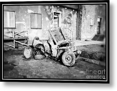 Remnants Of War Metal Print by Glenn McCarthy Art and Photography