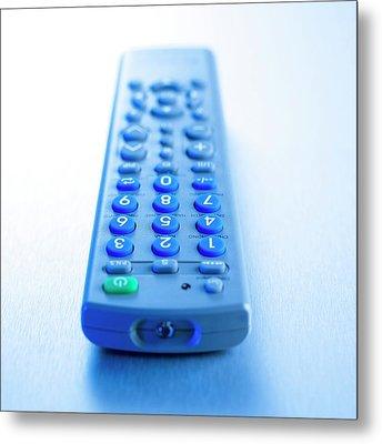 Remote Control Metal Print