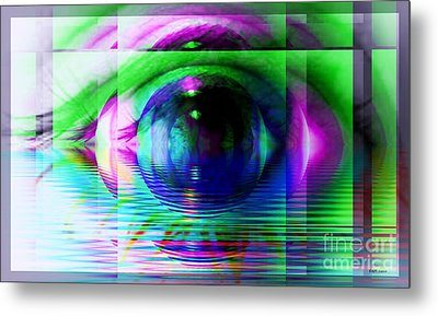 Remote Viewing Metal Print