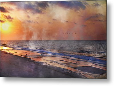 Renewed Metal Print by Betsy Knapp