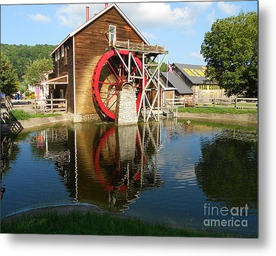 Metal Print featuring the photograph Renfro Valley  Mill by Mary Carol Story