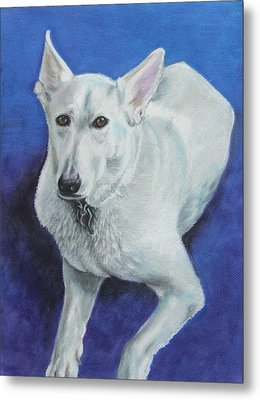 Metal Print featuring the painting Reno by Jeanne Fischer