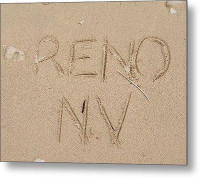 Reno Metal Print by Jewels Blake Hamrick