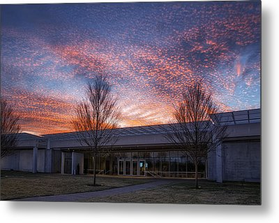 Renzo Piano Pavilion Metal Print by Joan Carroll