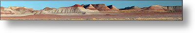 Metal Print featuring the photograph Repainted Desert by Gregory Scott