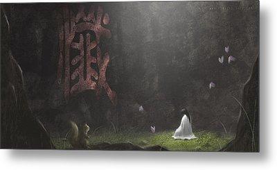 Repentance Metal Print by Hiroshi Shih