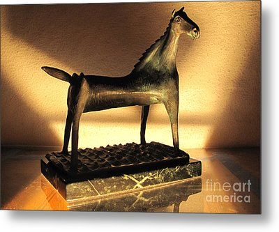 rephotographed SEA MARE Original bronze sculpture Limited Edition of 3 sculptures Metal Print