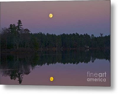 Metal Print featuring the photograph Replacing The Sunset by Alice Mainville