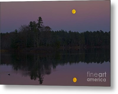 Metal Print featuring the photograph Replacing The Sunset II by Alice Mainville