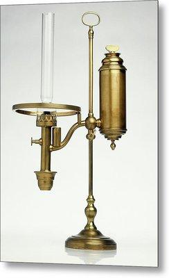 Replica Of Oil Lamp Metal Print