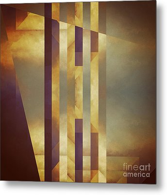 Repressed Altarpiece Metal Print by Lonnie Christopher