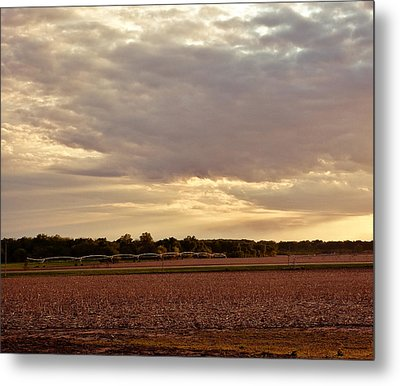 Republican River Valley Metal Print by Tracy Salava