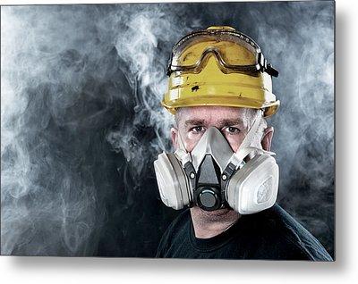 Rescue Worker Metal Print by Joe Belanger