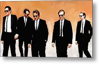 Reservoir Dogs Movie Artwork 1 Metal Print