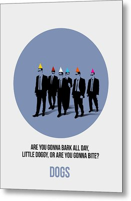 Reservoir Dogs Poster  Metal Print by Naxart Studio