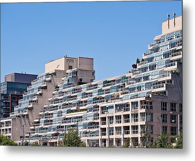 Metal Print featuring the photograph Residential Building Toronto by Marek Poplawski