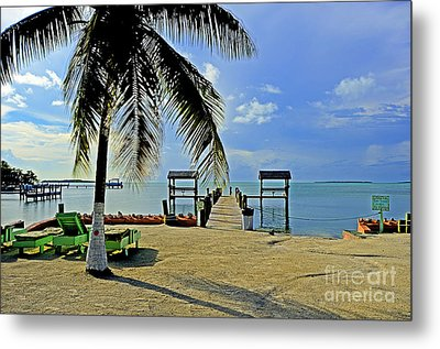 Resort II Metal Print by Bruce Bain