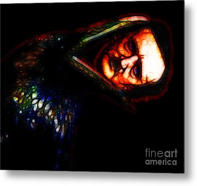 Respite And Nepenthe From Thy Memories Of Lenore - Edgar Allan Poe - Version 2 Metal Print