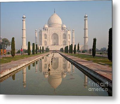 Resplendent Taj Mahal Metal Print