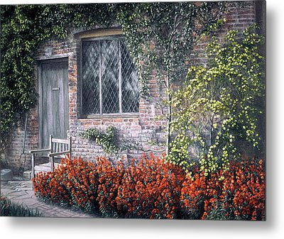 Metal Print featuring the painting Rest Awhile by Rosemary Colyer