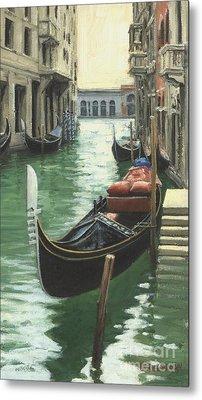 Resting Gondola Metal Print by Michael Swanson