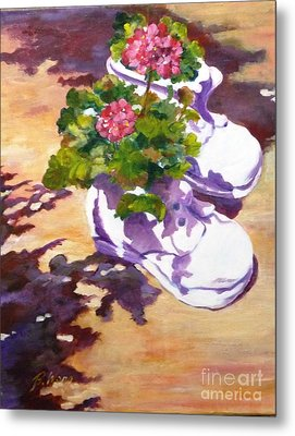 Resting In The Sun Metal Print by Betty M M   Wong