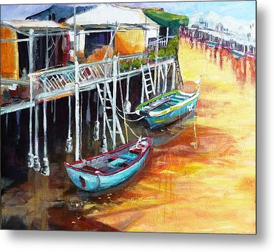 Resting Moment Metal Print by Betty M M   Wong