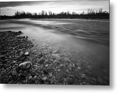 Restless River Metal Print by Davorin Mance