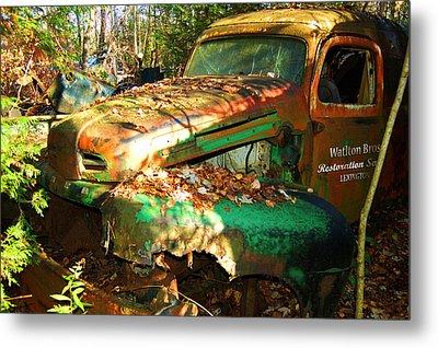Restoration Service Metal Print by Ron Haist
