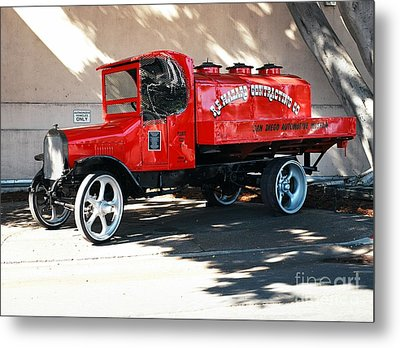 Restored 1922 Mack Truck Metal Print