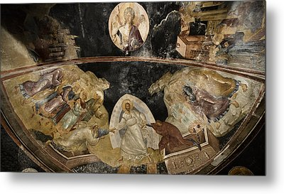 Resurrection Of Adam And Eve Metal Print by Stephen Stookey