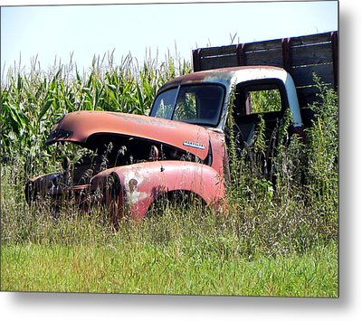 Metal Print featuring the photograph Retired by Deb Halloran
