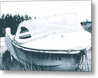 Retired From The Ocean Metal Print by Sheldon Blackwell