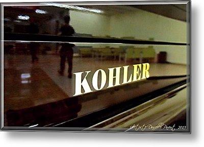 Retired Kohler Piano Metal Print by Danielle  Parent