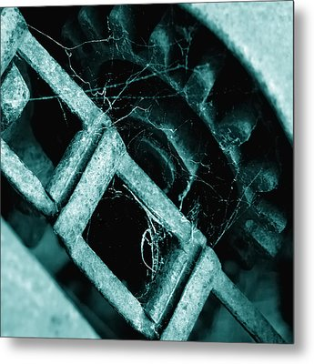 Metal Print featuring the photograph Retired by Steven Milner