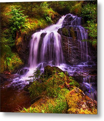 Retreat For Soul. Rest And Be Thankful. Scotland Metal Print by Jenny Rainbow