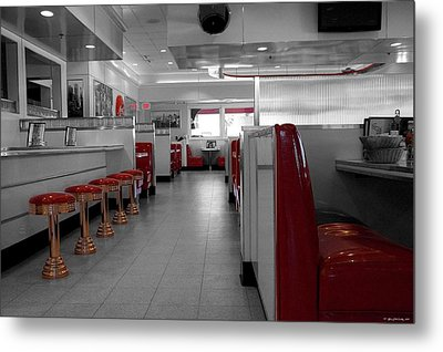 Retro Deli Metal Print by Glenn McCarthy Art and Photography