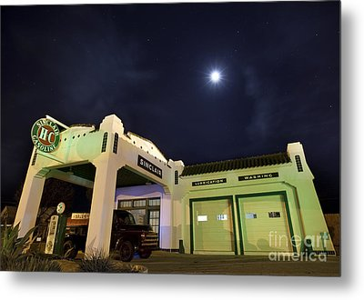 Metal Print featuring the photograph Retro Gas Station by Keith Kapple
