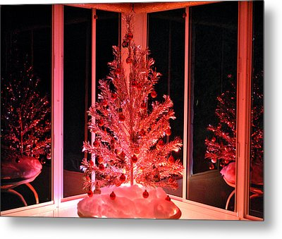 Metal Print featuring the photograph Retro Reflections by Kelly Nowak