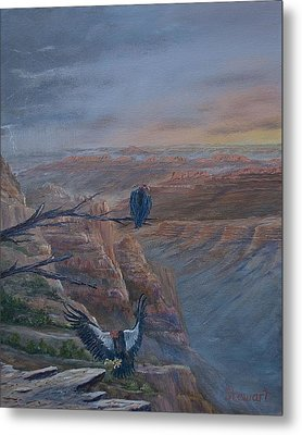 Return Of The Condor Metal Print